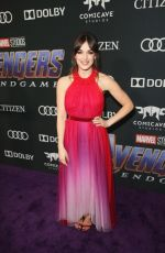 ELIZABETH HENSTRIDGE at Avengers: Endgame Premiere in Los Angeles 04/22/2019