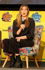 ELIZABETH OLSEN at 2019 German Comic-con 04/13/2019