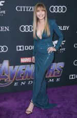 ELIZABETH OLSEN at Avengers: Endgame Premiere in Los Angeles 04/22/2019