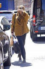 ELIZABETH OLSEN Leaves Her Hotel in New York 04/04/2019