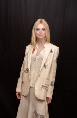 ELLE FANNING at Teen Spirit Press Conference in Beverly Hills, March 2019