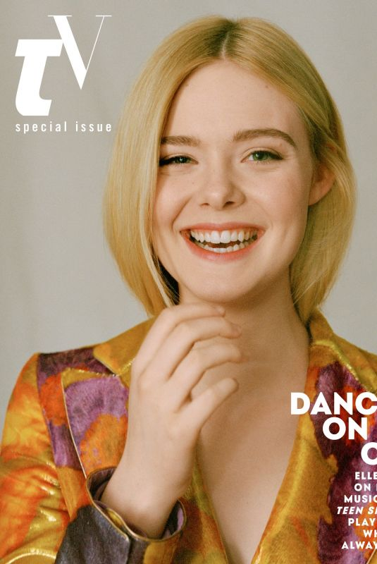 ELLE FANNING for Teen Vogue Magazine, April 2019