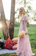 ELLE FANNING for Wildflowers, 2019