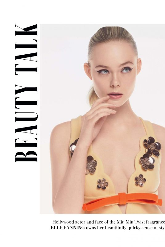 ELLE FANNING in Instyle Magazine, Australia May 2019