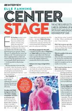 ELLE FANNING in OK! Magazine, April 2019