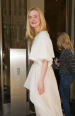 ELLE FANNING Out and About in New York 04/04/2019
