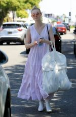 ELLE FANNING Out Shopping in West Hollywood 04/06/2019