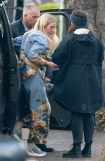 ELLIE GOULDING Arrives on a Video Shoot for Her Latest Single in London 04/04/2019