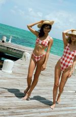 ELSA HOSK and GEORGIA FOWLER in Swimsuit at a Photoshoot in Turks & Caicos 04/02/2019