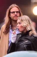 ELSA HOSK and Tom Daly Out in New York 04/16/2019