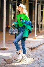 ELSA HOSK Out and About in New York 04/24/2019