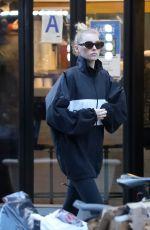 ELSA HOSK Out Shopping in New York 04/18/2019