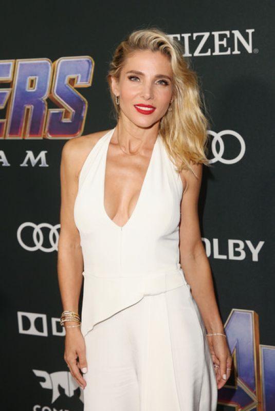 ELSA PATAKY at Avengers: Endgame Premiere in Los Angeles 04/22/2019