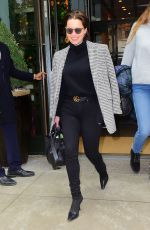 EMILI CALRKE Out and About in New york 04/02/2019