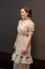 EMILIA CLARKE at Game of Thrones, Season 8 Press Conference in New York 04/04/2019