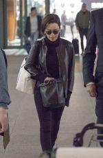 EMILIA CLARKE at Heathrow Airport in London 04/07/2019