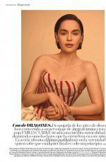 EMILIA CLARKE in Vogue Magazine, Spain 2019
