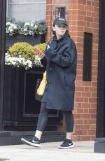 EMILIA CLARKE Leaves a Gym in London 04/08/2019