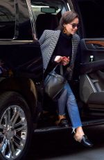EMILIA CLARKE Out and About in New York 04/01/2019