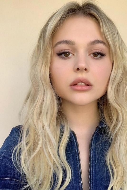 EMILY ALYN LIND on the Set of a Photoshoot, 2019