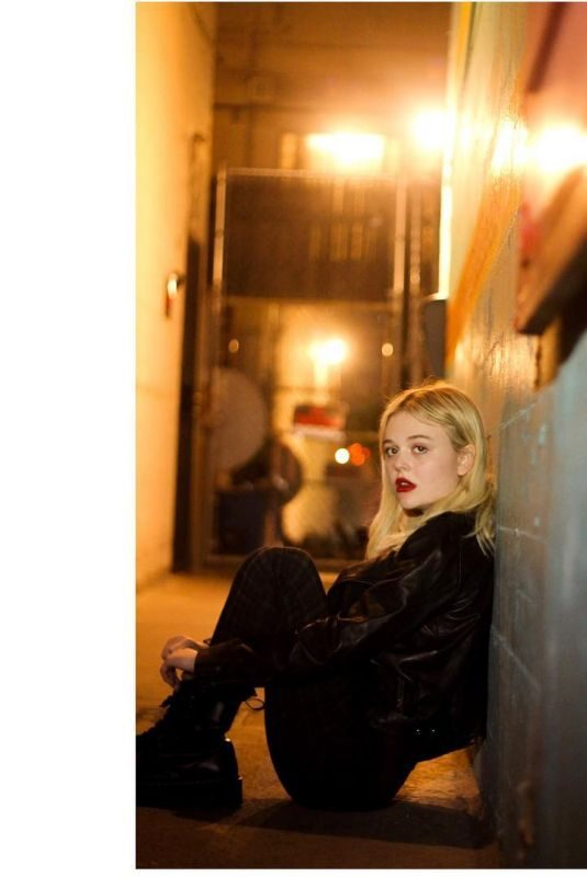 EMILY ALYN LIND on the Set of a Photoshoot, April 2019