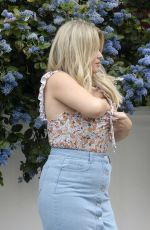EMILY ATACK on the Set of a Photoshoot in London 04/25/2019