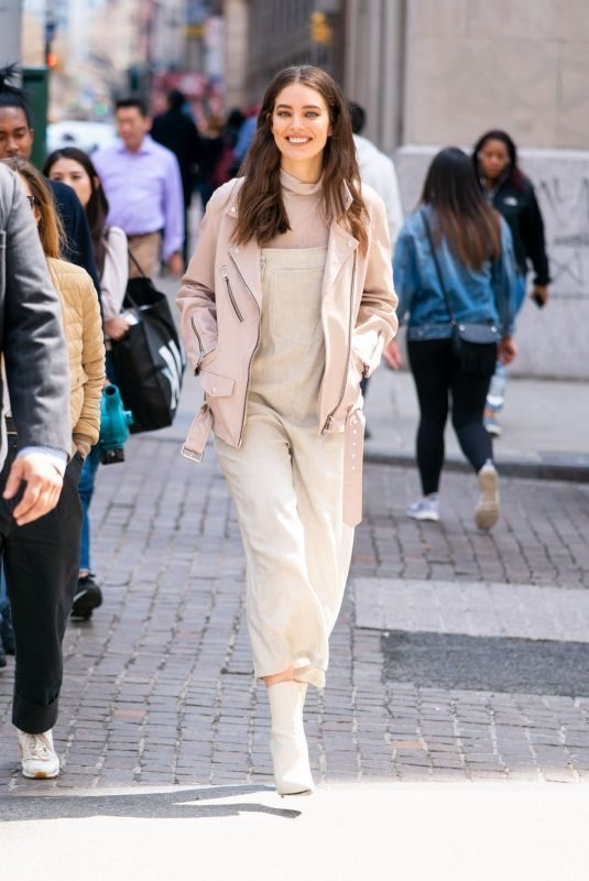EMILY DIDONATO Out and Abou in New York 04/07/2019