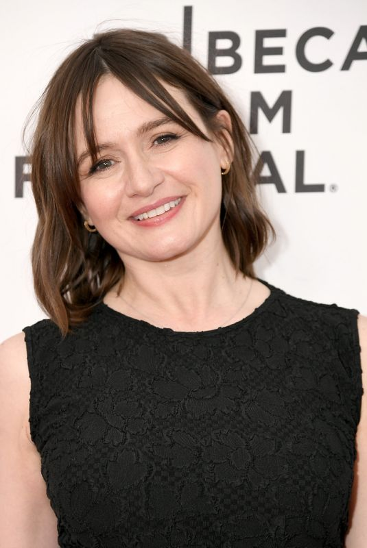 EMILY MORTIMER at Good Posture Premiere at 2019 Tribeca Film Festival 04/27/2019