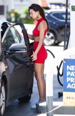 EMILY RATAJKOWSKI at a Gas Station in Los Angeles 04/23/2019