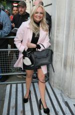 EMMA BUNTON Arrives at BBC Radio in London 04/12/2019