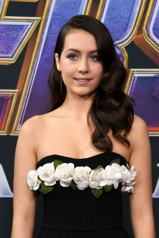 EMMA FUHRMANN at Avengers: Endgame Premiere in Los Angeles 04/22/2019