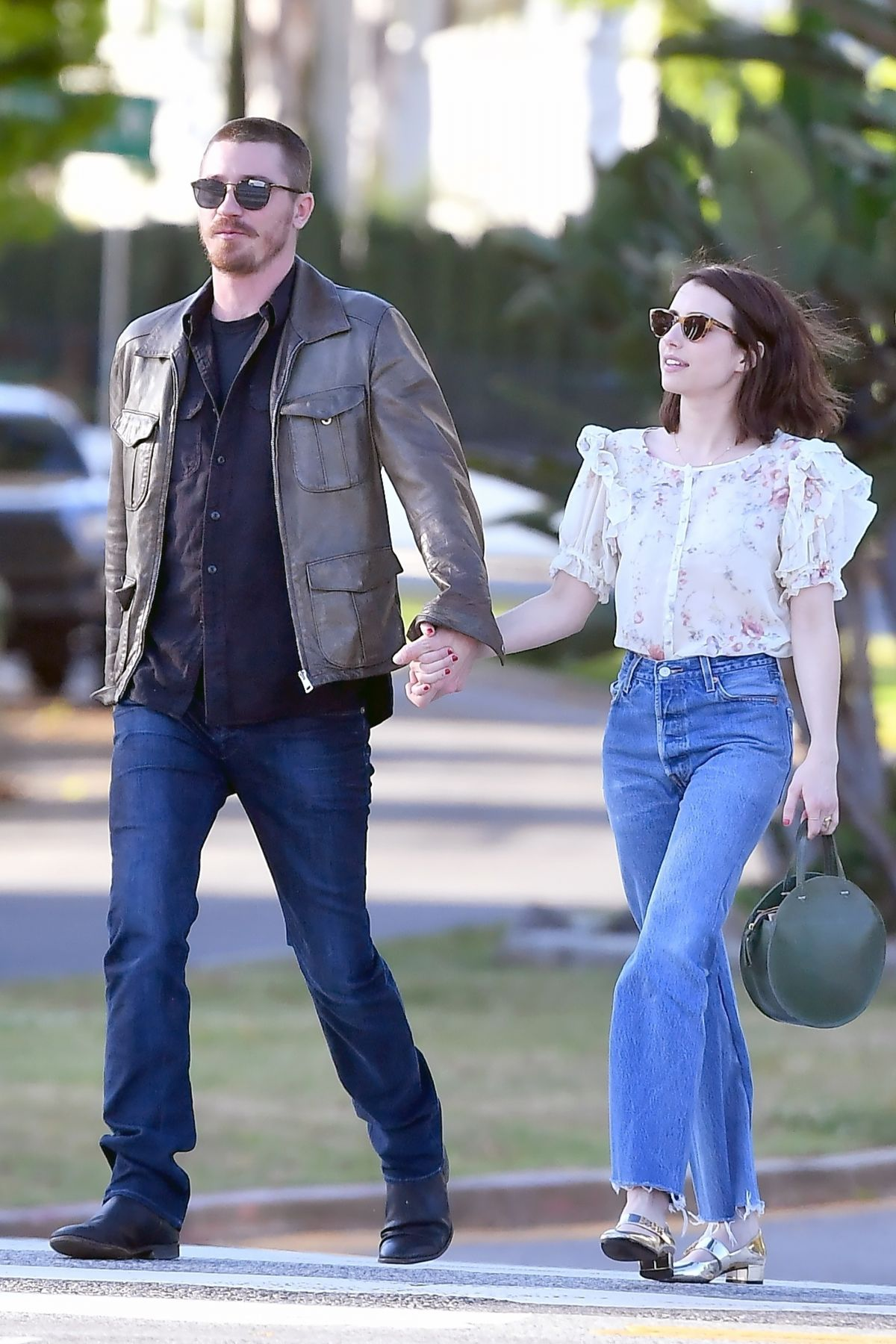 Emma Roberts And Garrett Hedlund Out In Los Angeles 04 13
