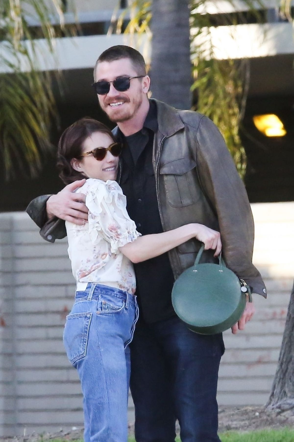 EMMA ROBERTS and Garrett Hedlund Out in Los Angeles 04/13 ...
