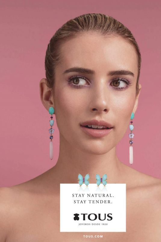 EMMA ROBERTS for Tous Jewelry 2019
