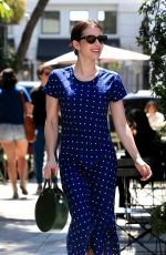 EMMA ROBERTS HEading to Nine Zero One Hair Salon in West Hollywood 04/06/2019