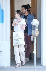EMMA ROBERTS, MIA SWIER and Darren Criss Out in Los Angeles 04/08/2019