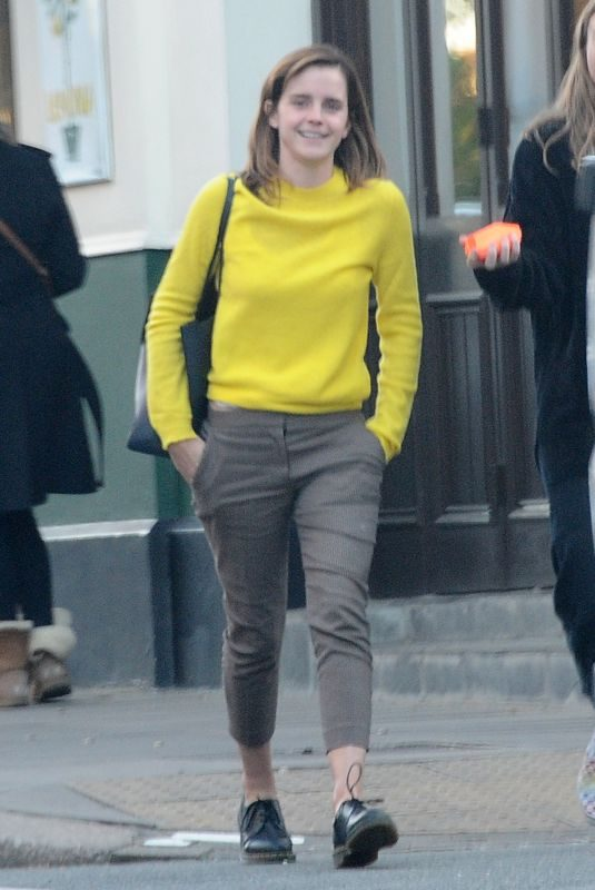 EMMA WATSON Out for Lunch in London 04/26/2019
