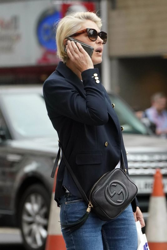 EMMA WILLIS Out Shopping in London 04/24/2019