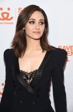 EMMY ROSSUM at Best Friends Animal Society Benefit To Save Them All in New York 04/02/2019