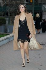 EMMY ROSSUM Out and About in New York 04/02/2019