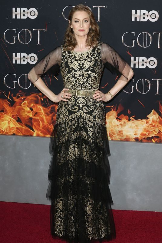ESME BIANCO at Game of Thrones, Season 8 Premiere in New York 04/03/2019