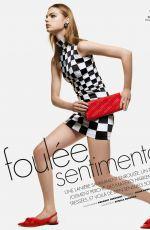 ESTELLA BOERSMA for Elle Magazine, France April 2019