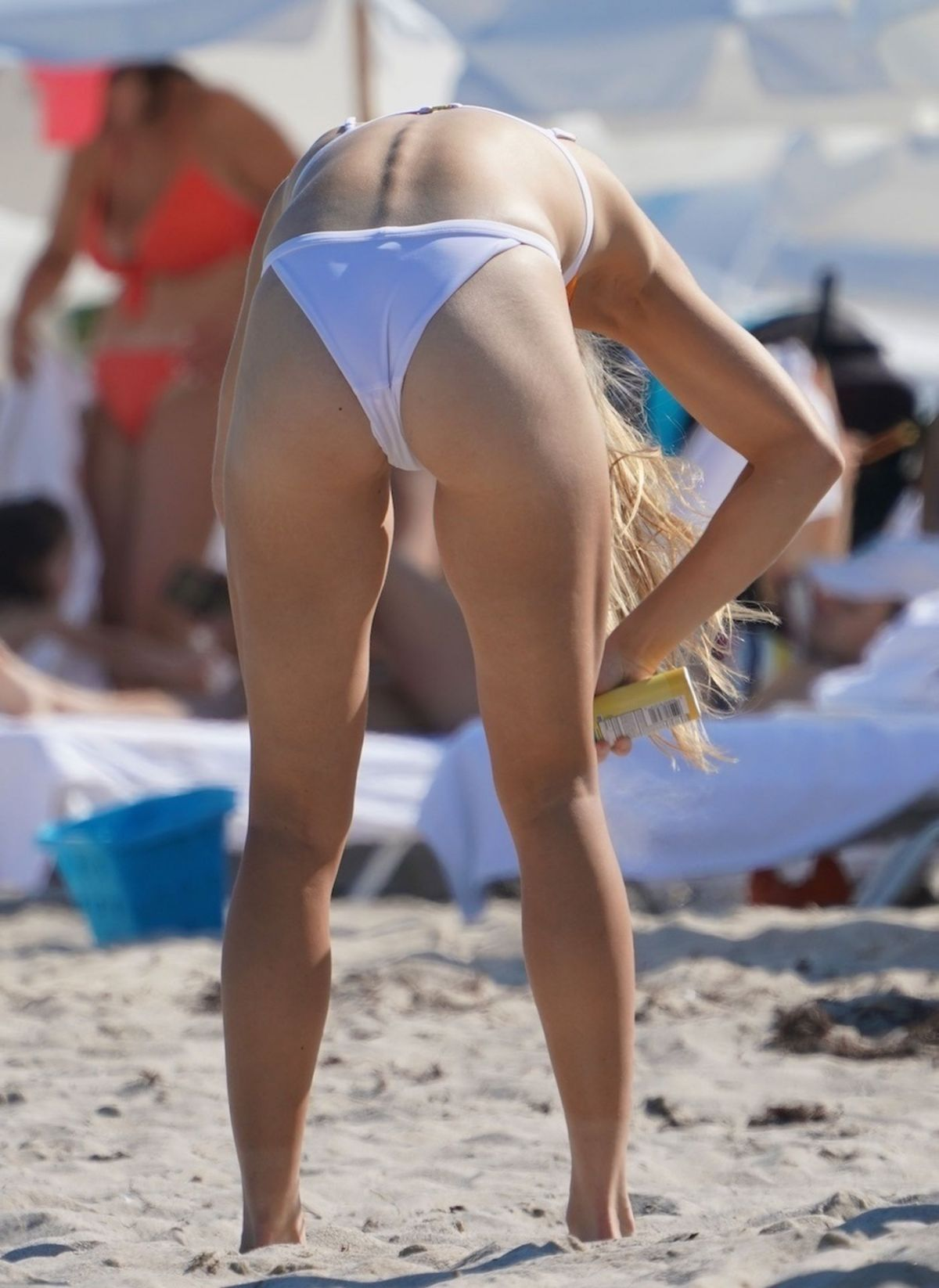 Accidental Bikini Slip