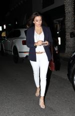 EVA LONGORIA at Madeo Restaurant in Beverly Hills 04/11/2019
