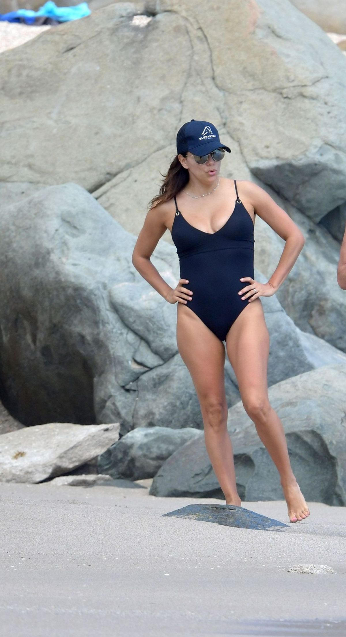 Swimsuit Longoria Beach Eva In St 04232019 At A Barts 7bYf6gy