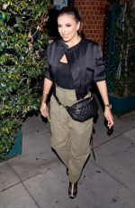 EVA LONGORIA Out for Dinner in Beverly Hills 04/13/2019