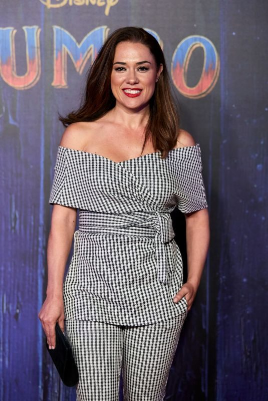 EVA MARCIEL at Dumbo Premiere in Madrid 03/28/2019