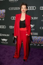 EVANGELINE LILLY at Avengers: Endgame Premiere in Los Angeles 04/22/2019
