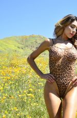 FARRAH ABRAHAM in Swimsuit on the Set of a Photoshoot 04/01/2019