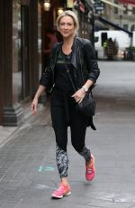 FAYE TOZER Arrives at Global Radio in London 04/30/2019